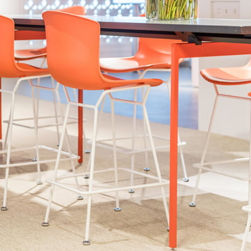 Knoll - Bertoia Plastic Bar Stool