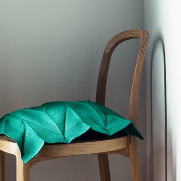 Iittala X Issey Miyake - Pillowcase Random 35 x 35 cm, emerald green
