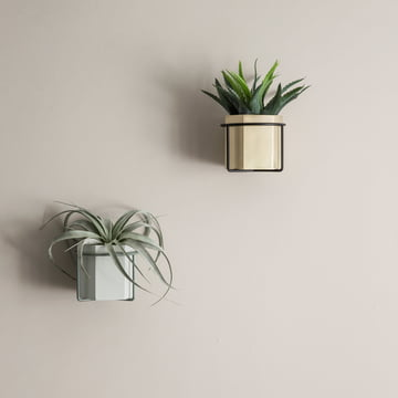 Hexagon Flowerpot, Vase and Plant Stand