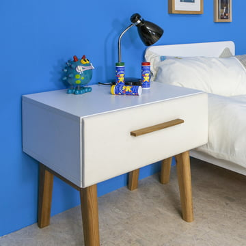 debe.deline Bedside Table with Drawer