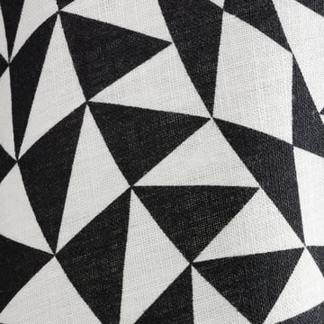 Linen tablecloth Geometric by Vitra in black