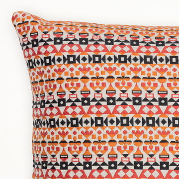 Pillow Arabesque, 30 x 40 cm by Vitra in oragne and pink