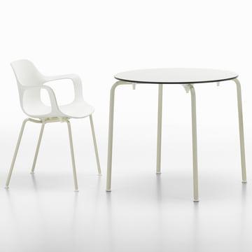 Vitra - Hal Tube Armchair / Hal table, round
