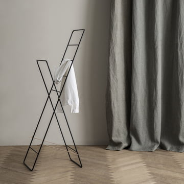 Not a clothes rack in the traditional sense