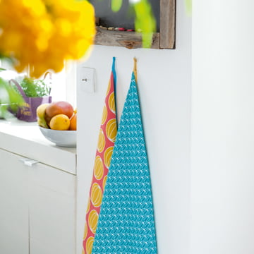 Colourful Dish Towels drive off Wanderlust