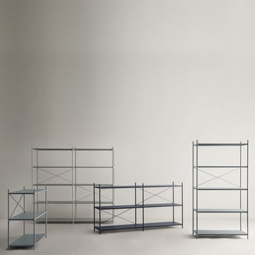 High-quality and absolutely flexible shelving system
