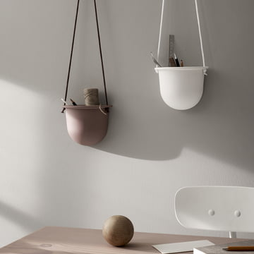 The Hanging Vessel Ceramic Planter by Menu