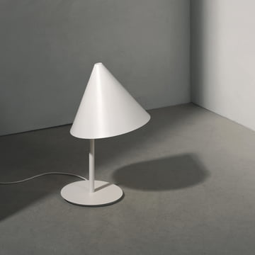 The Conic Table Lamp by Menu in white
