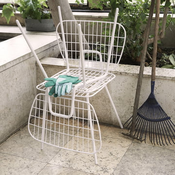 Menu - WM String Dining - Lounge Chair