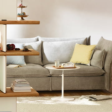 Maximum comfort with the Mariposa sofa by Vitra