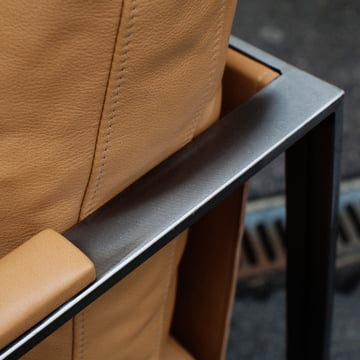 Detail view of the Monaco Lounge Chair