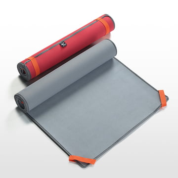 Terra Nation - Tehe Moe Beach Mat, coral and grey