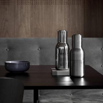 Menu - Bottle Salt and Pepper Grinder Stainless Steel