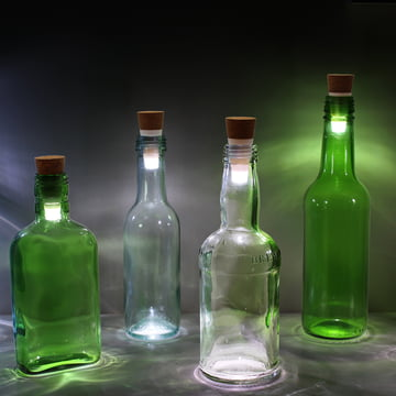 Bottle Light LED bottle light by Suck UK