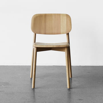 Hay - Soft Edge Chair in oak matt lacquered