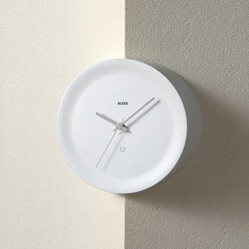 Formally pure and non-decorative Wall Clock
