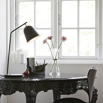 Caché Table Lamp with hidden lamp shade