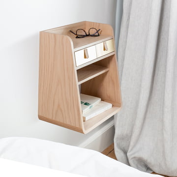 Floating Nightstand in the Bedroom