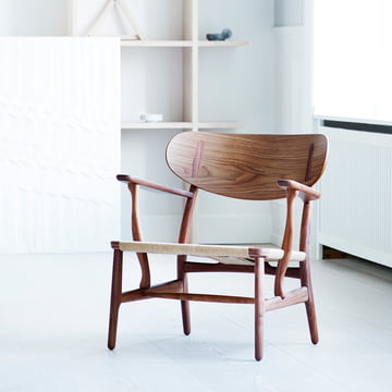 Carl Hansen - CH22, Oak-Walnut Mix