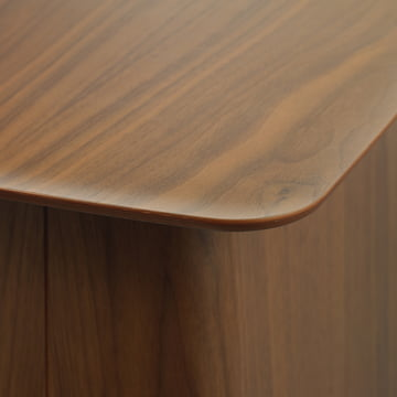 The Wooden Side Table's tabletop from Vitra