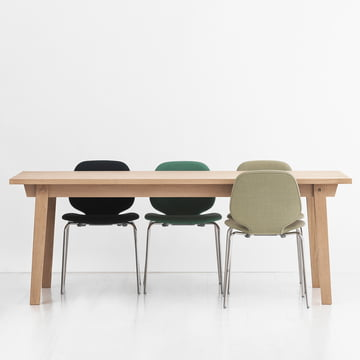 Slice by Normann Copenhagen used as Dining Table