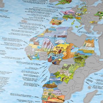 Travelmap/Bucketlist for scratching open