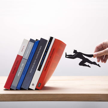 Magnetic Book & Hero Bookend