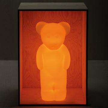 Yellow-orange Lumibär lamp by Authentics