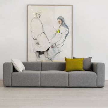 Mags Sofa by Hay as a classic 3-seater sofa