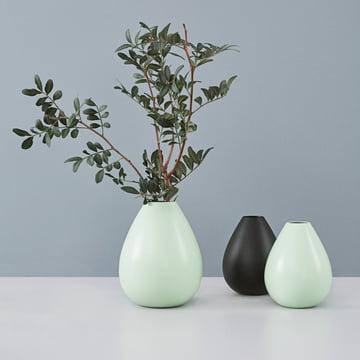 Design Letters - AJ Royal Vintage Vase, green/black