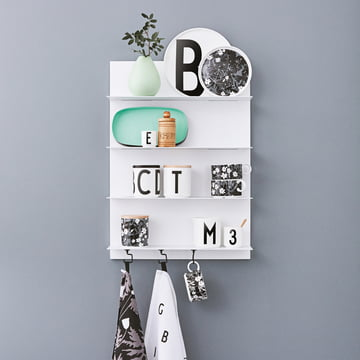 Design Letters - White Paper Shelf, A2