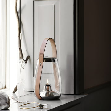Design with Light Oil Lantern by Holmegaard