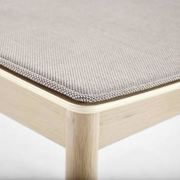 Pause Seat Cushion by Woud in Beige