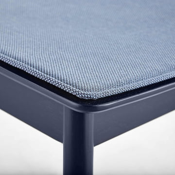 Pause Seat Cushion by Woud in Blue