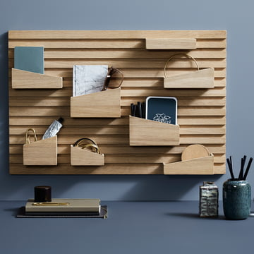 Input Organizer made from Solid Oak