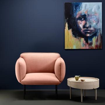 Skirt Coffee Table by Woud
