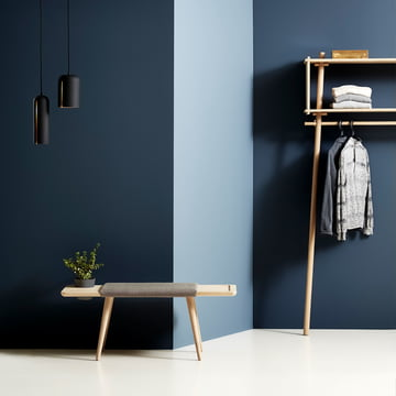 Gap pendant and Töjlbox coat stand