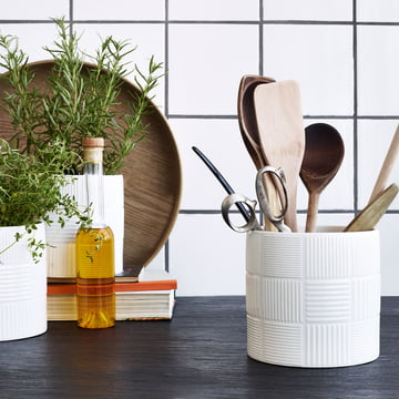 Nanna Ditzel Flowerpot by Rosendahl