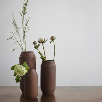 Edge Vase by Skagerak made of terracotta