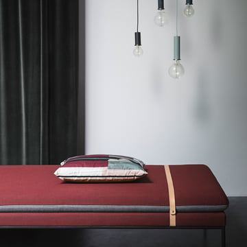 The ferm Living - Turn Daybed wool in dark grey