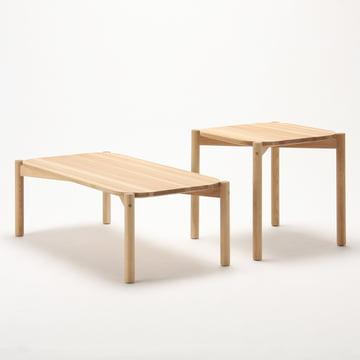 Karimoku New Standard - Castor Table, low