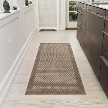 The tica copenhagen - Dot Doormat in sand, 67 x 200 cm