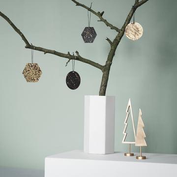 Winterland Brass Tree by ferm Living