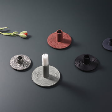 Cast Iron Candle Holder by ferm Living