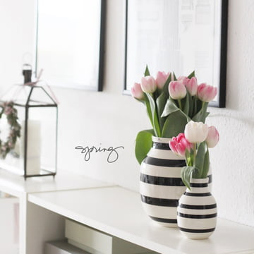 Omaggio Vases by Kähler Design