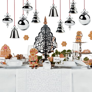 Dressed for X-Mas Christmas Ornaments by Alessi