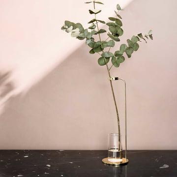 Subtle and Modern Stem Vase by Menu