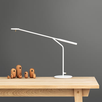 Flow Table Lamp with Little Bird