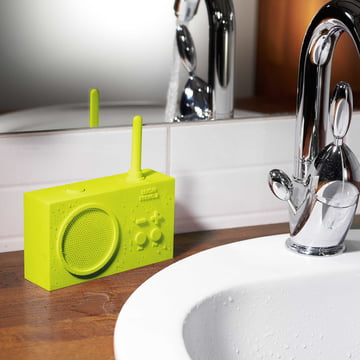 Tykho 2 Radio by Lexon in Lime Green