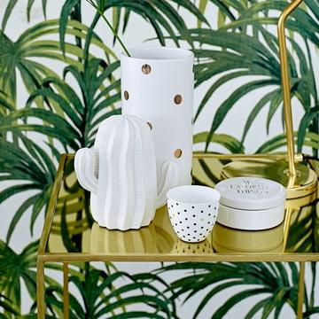 The Bloomingville - Decoration Cacti in Matt White